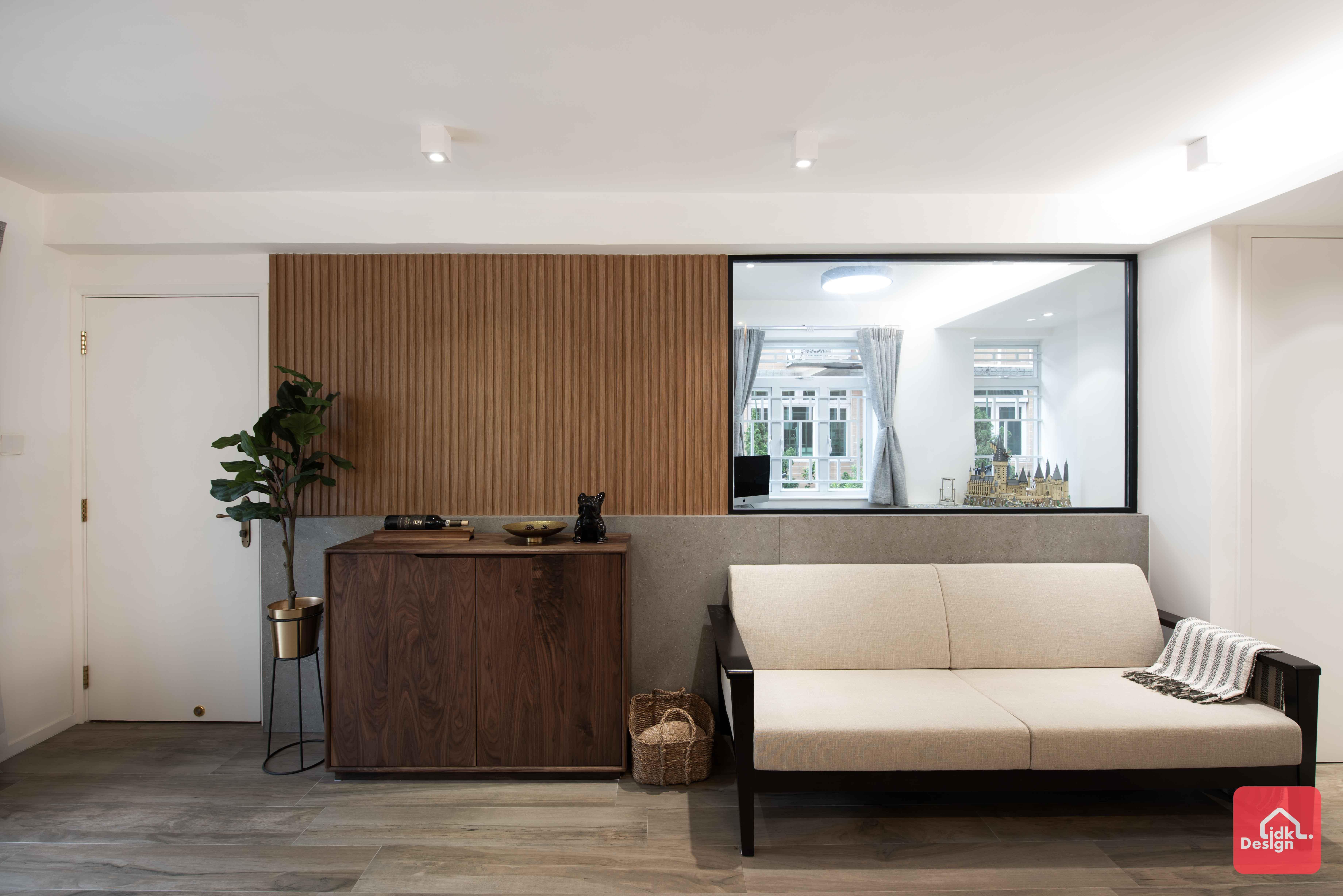 客廳玻璃牆