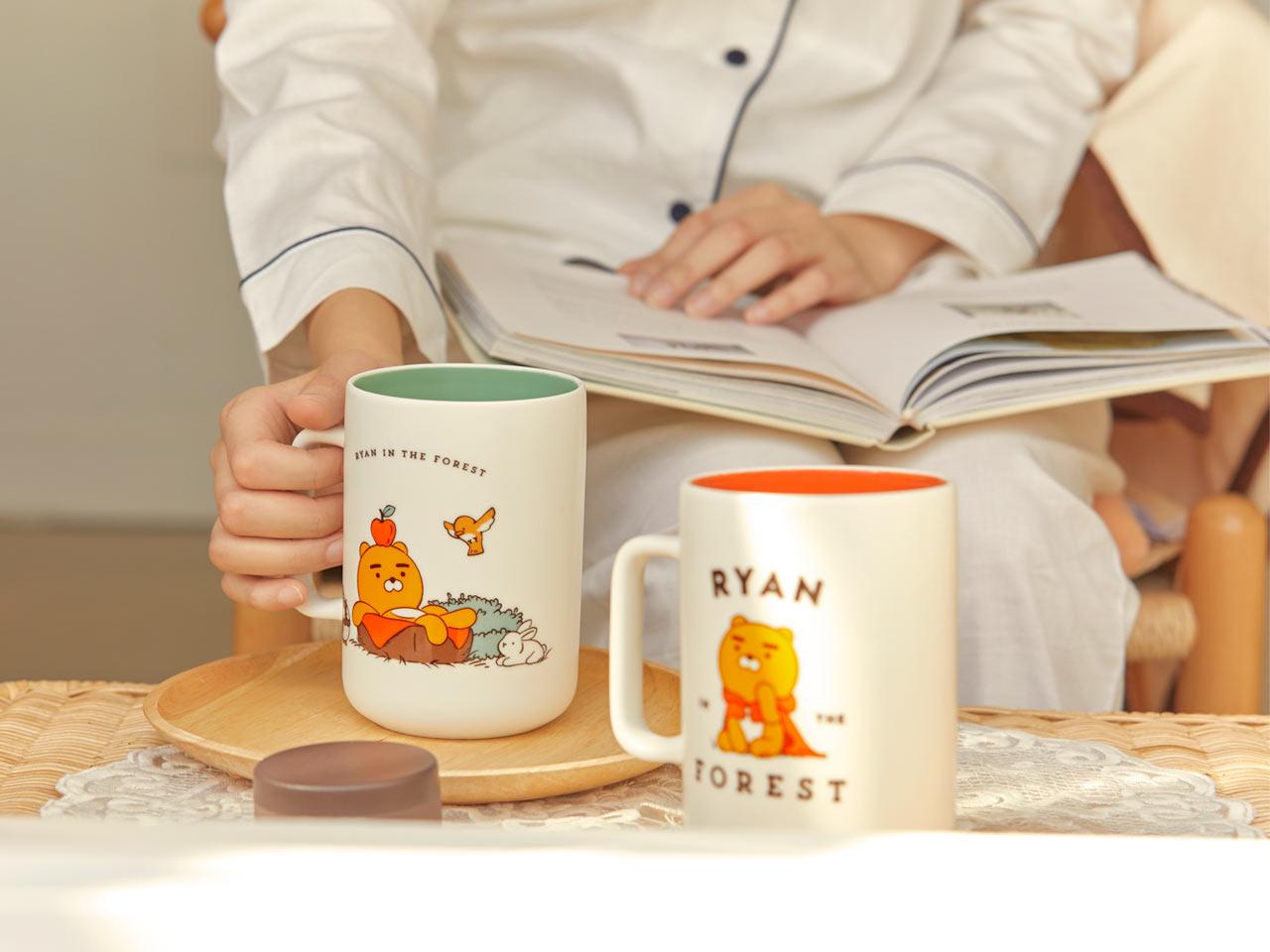 Kakao Friends ryan水杯