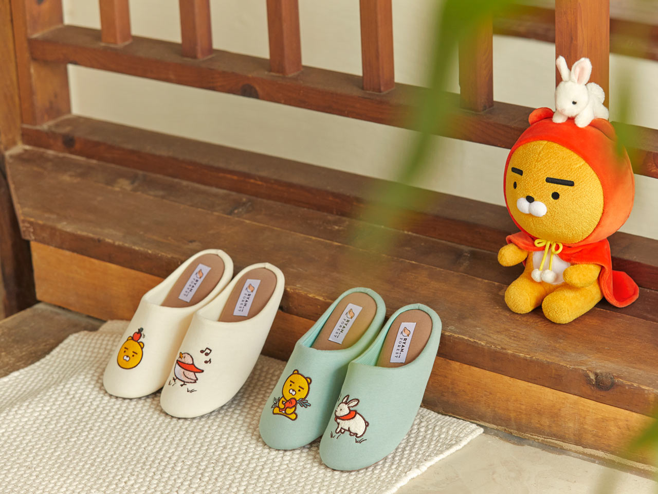 Kakao Friends ryan拖鞋
