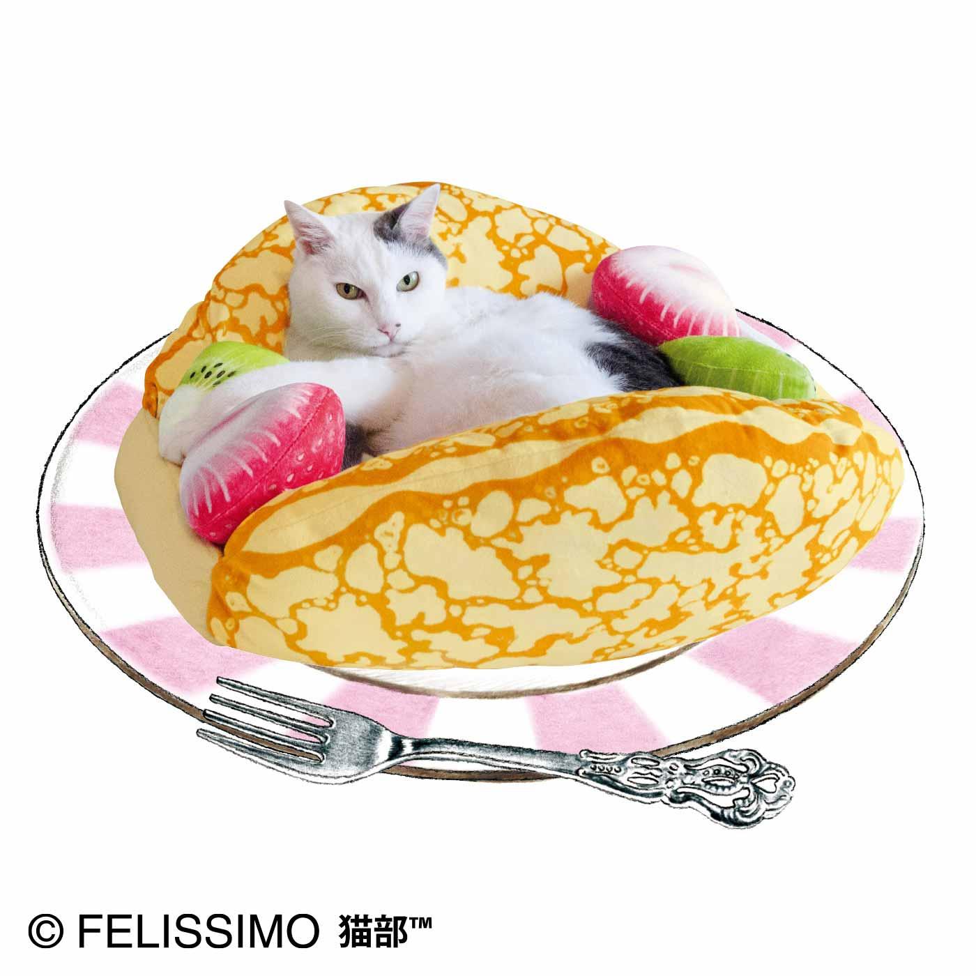 可麗餅寵物床