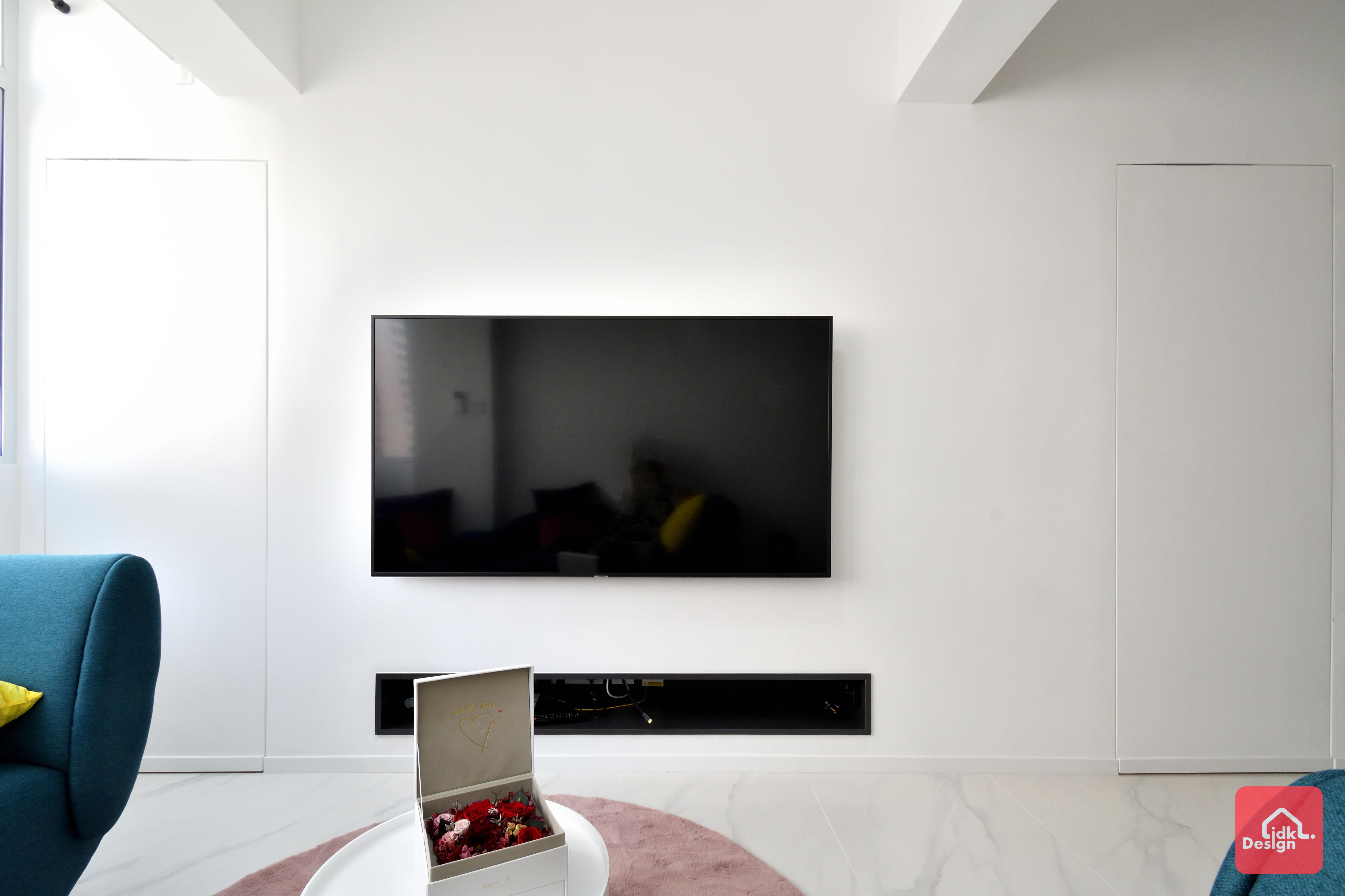 電視牆暗門