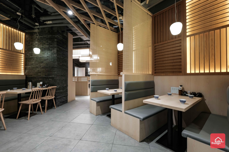 日本餐廳卡位設計