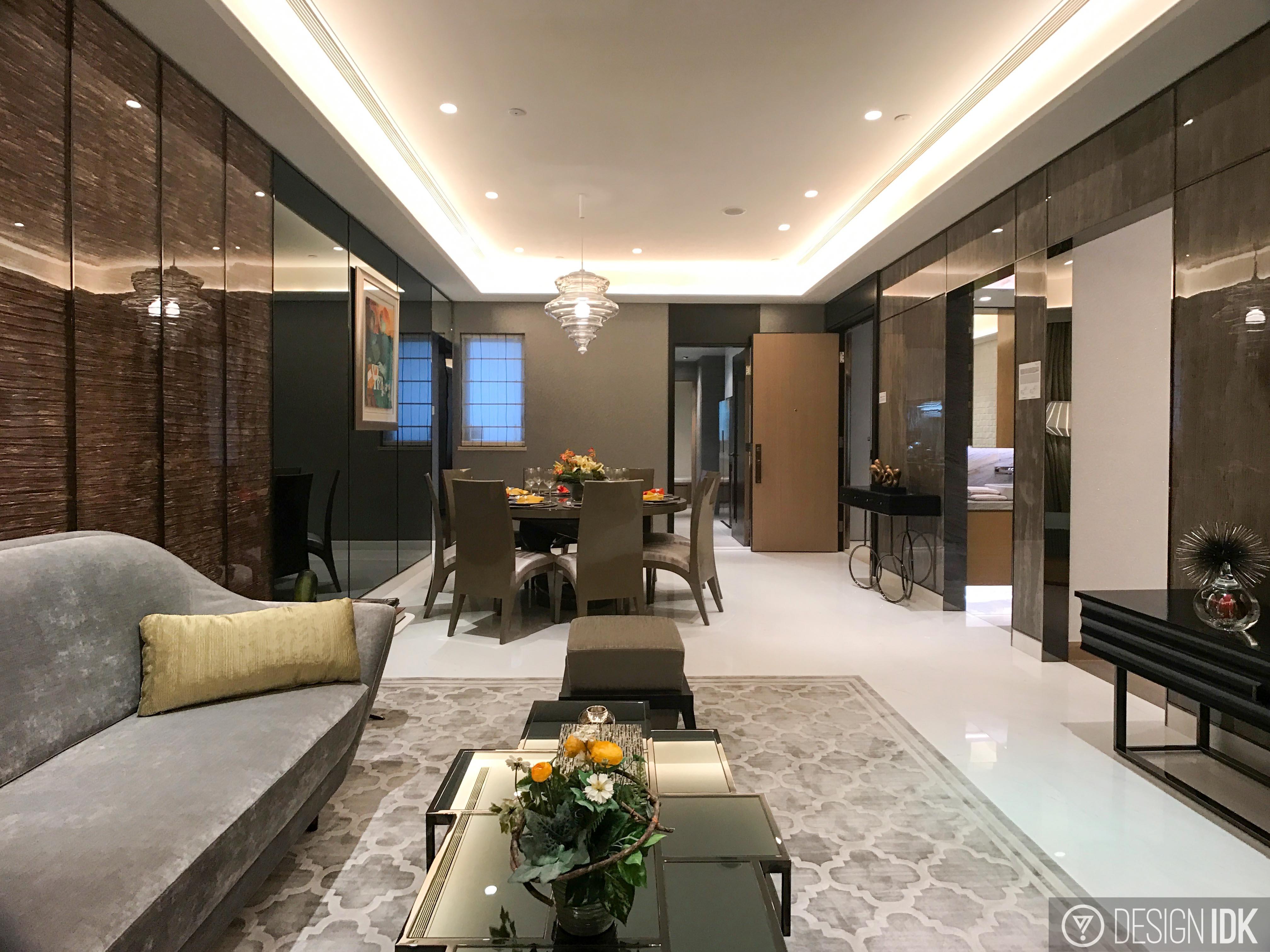 香港屯門 滿名山 1,398呎 示範單位
