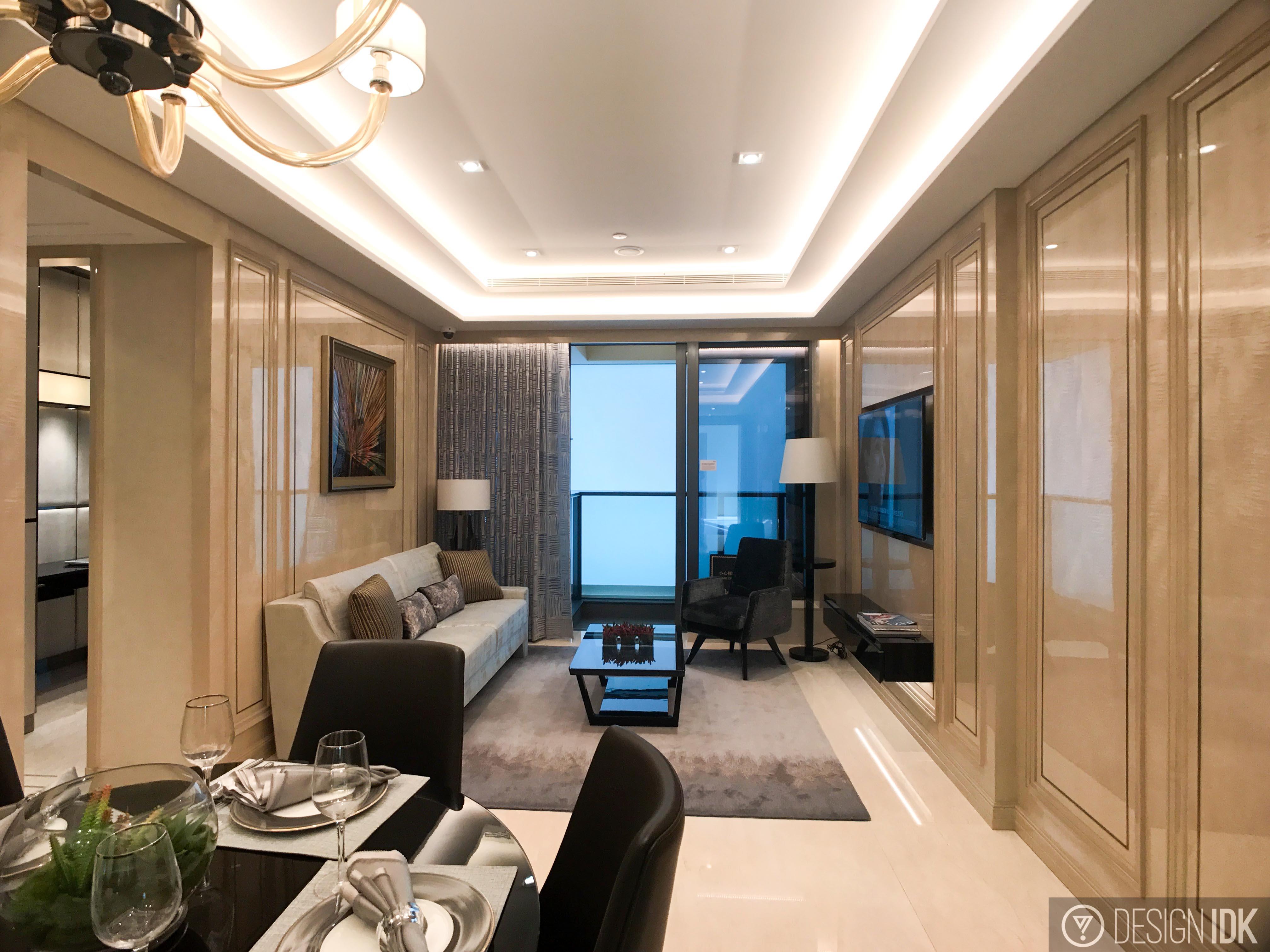香港何文田 皓畋 960呎 示範單位
