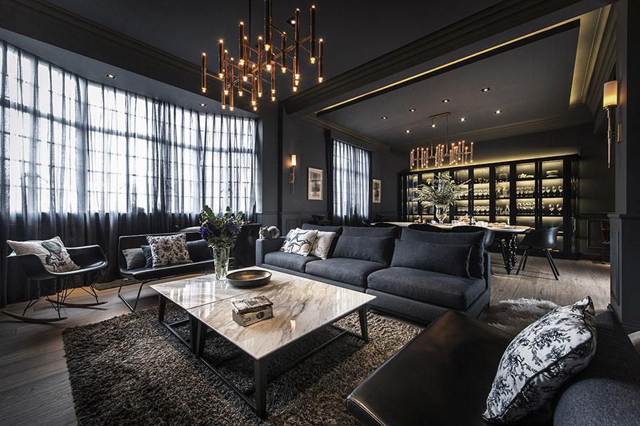 黑色舒適 生活之樂 - 上海老公寓