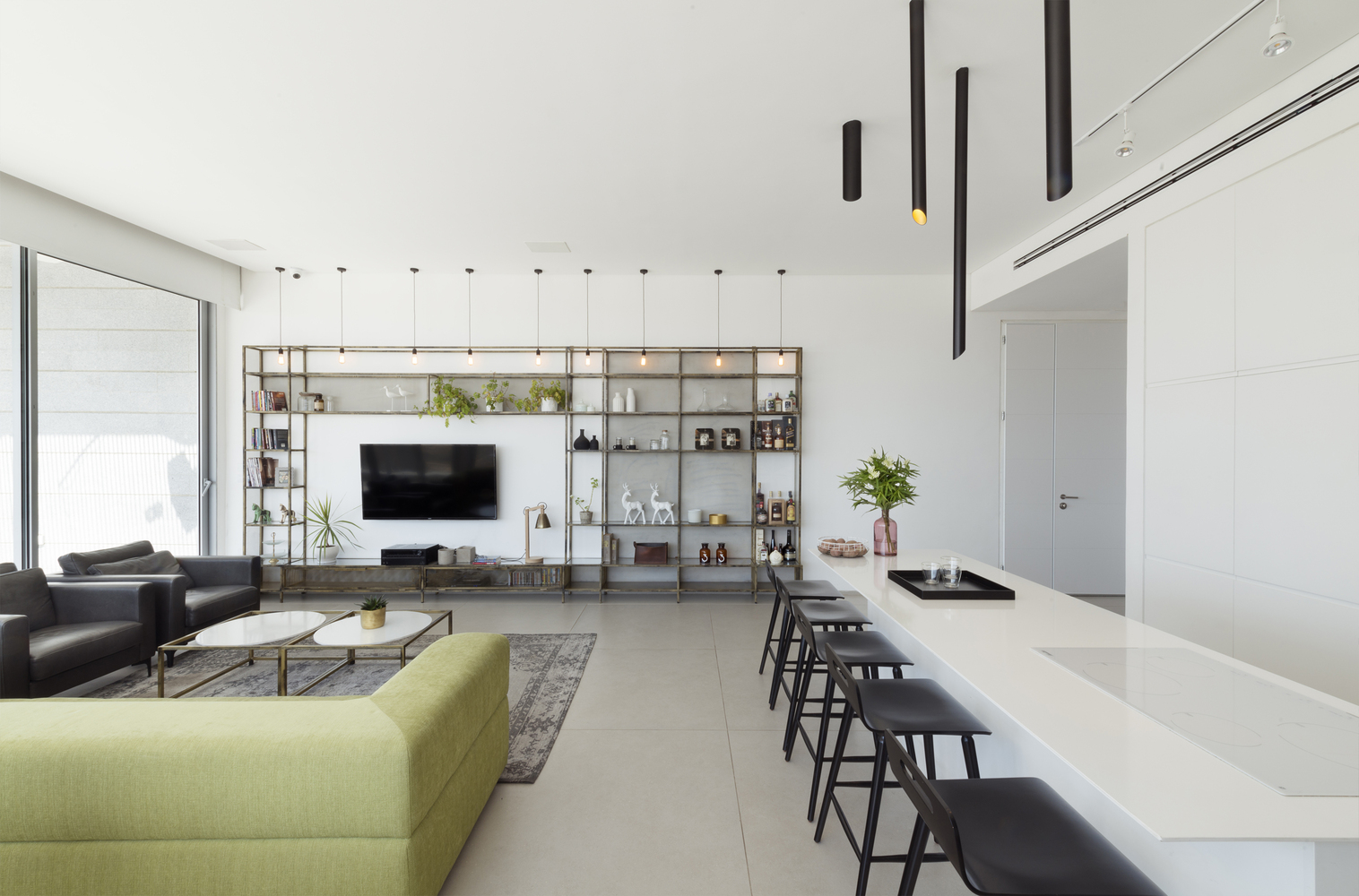 簡約的輕鬆空間 - Holon Penthouse