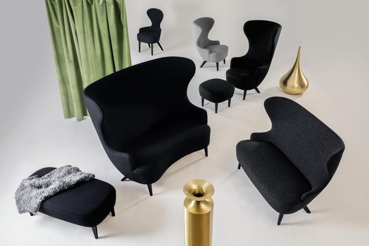 TOM DIXON 全新WINGBACK椅: 重新打造英倫復古味