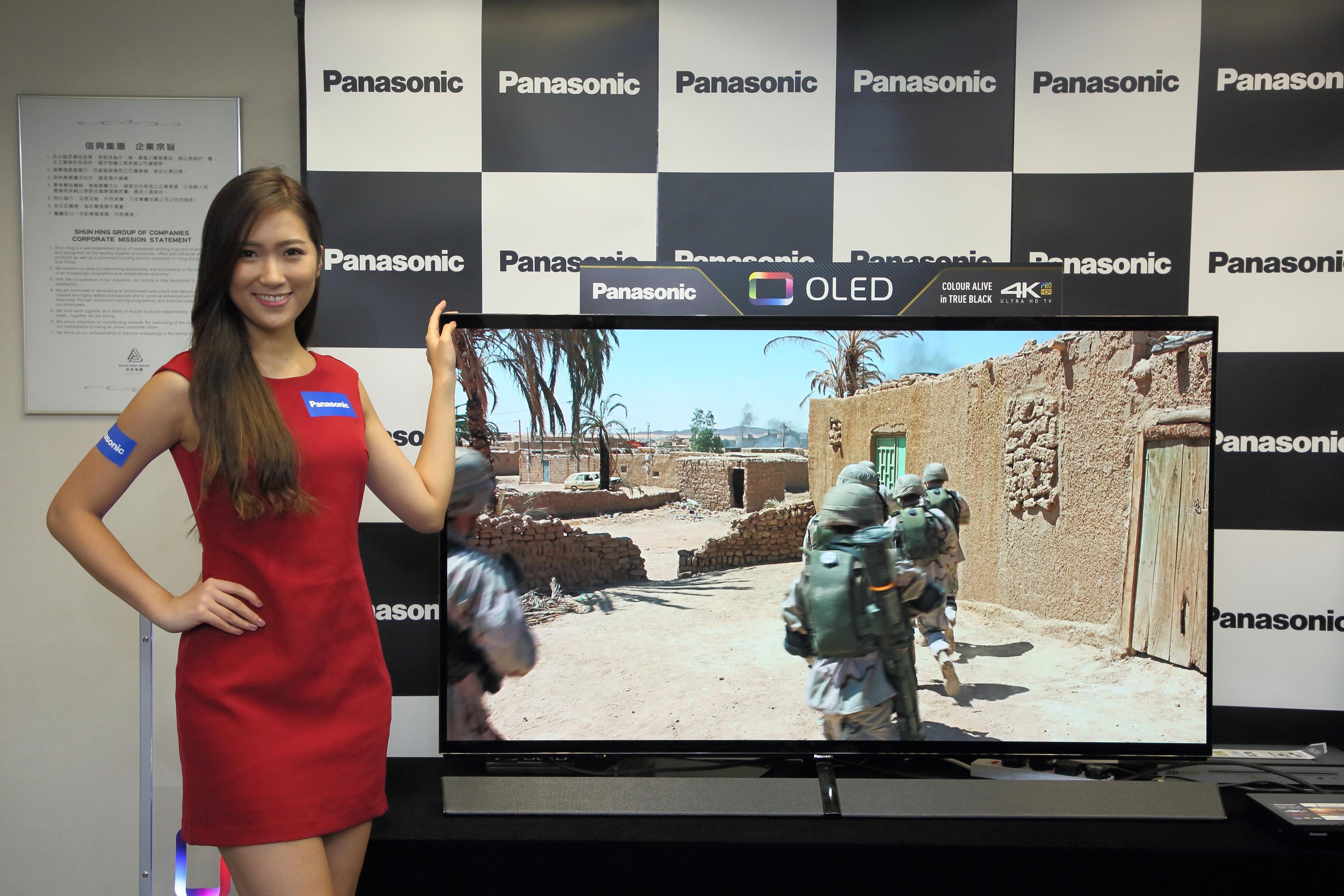 Panasonic EZ1000系列 OLED電視呈現荷李活級體驗