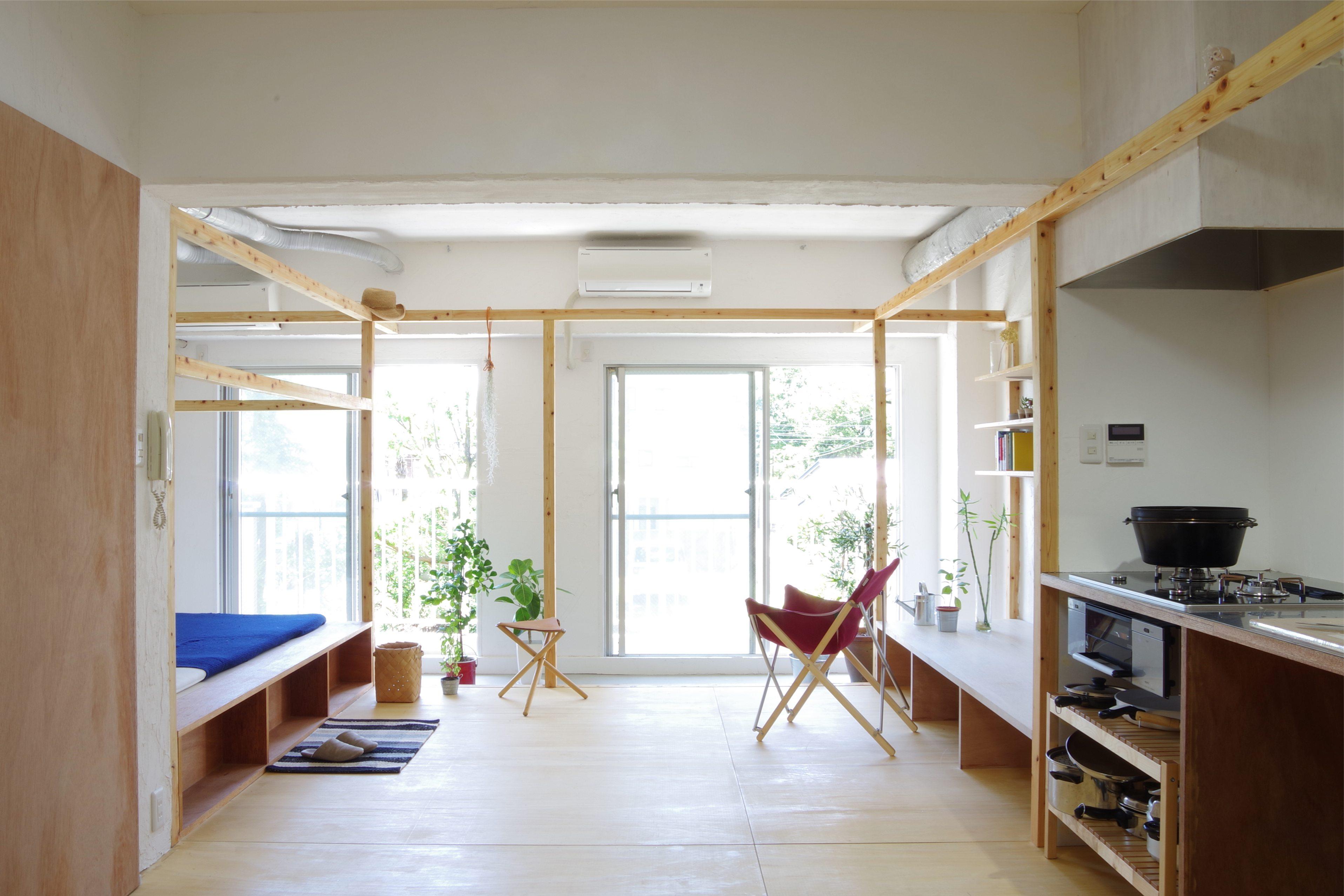 [寧靜的日式小居] - Frame House
