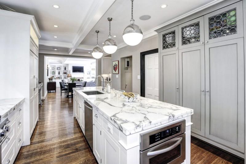 寬闊的廚房,相信烹調出來的食物定必更美味。