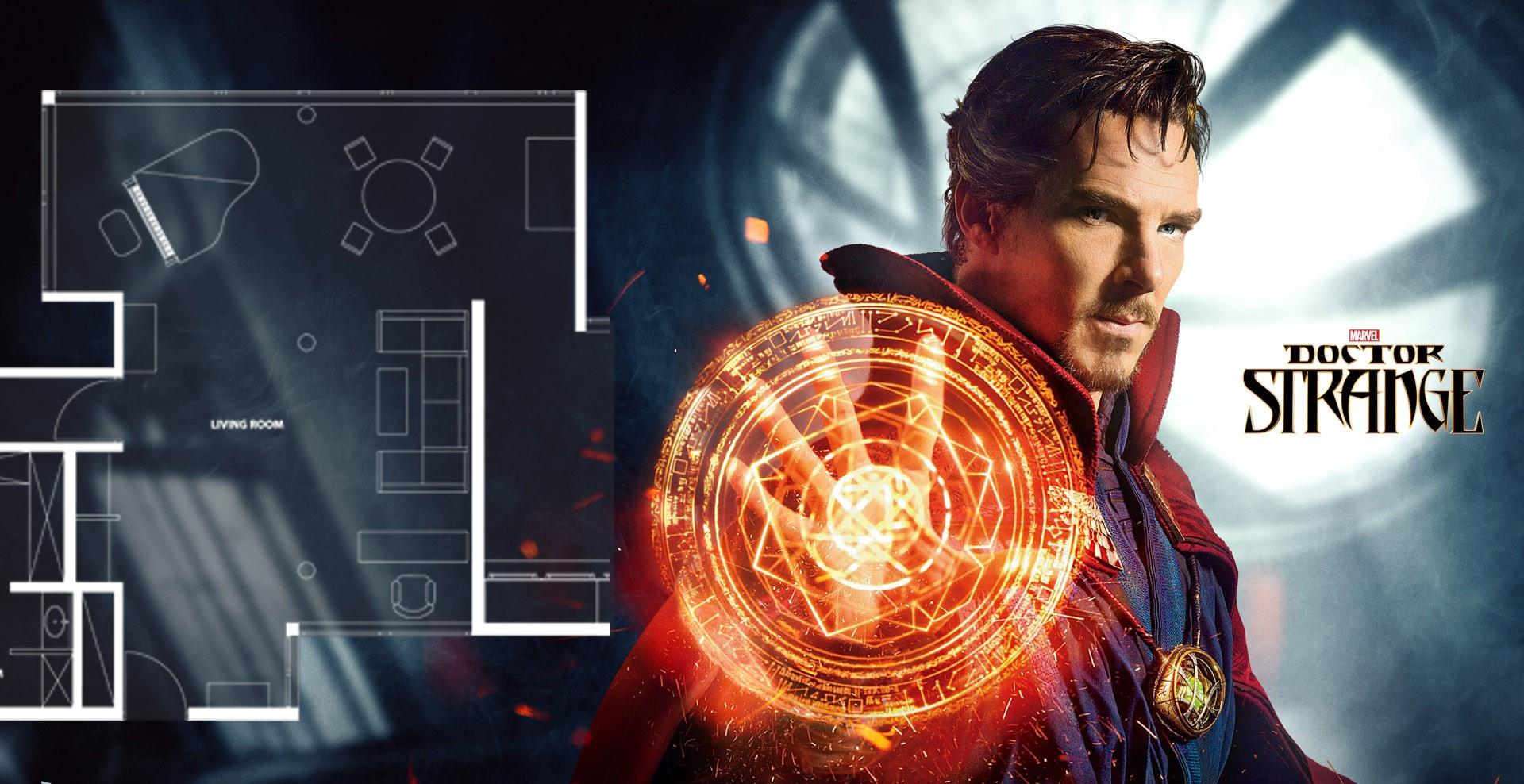 [超級英雄系列] 奇異博士Doctor Strange 家居的室內設計風格