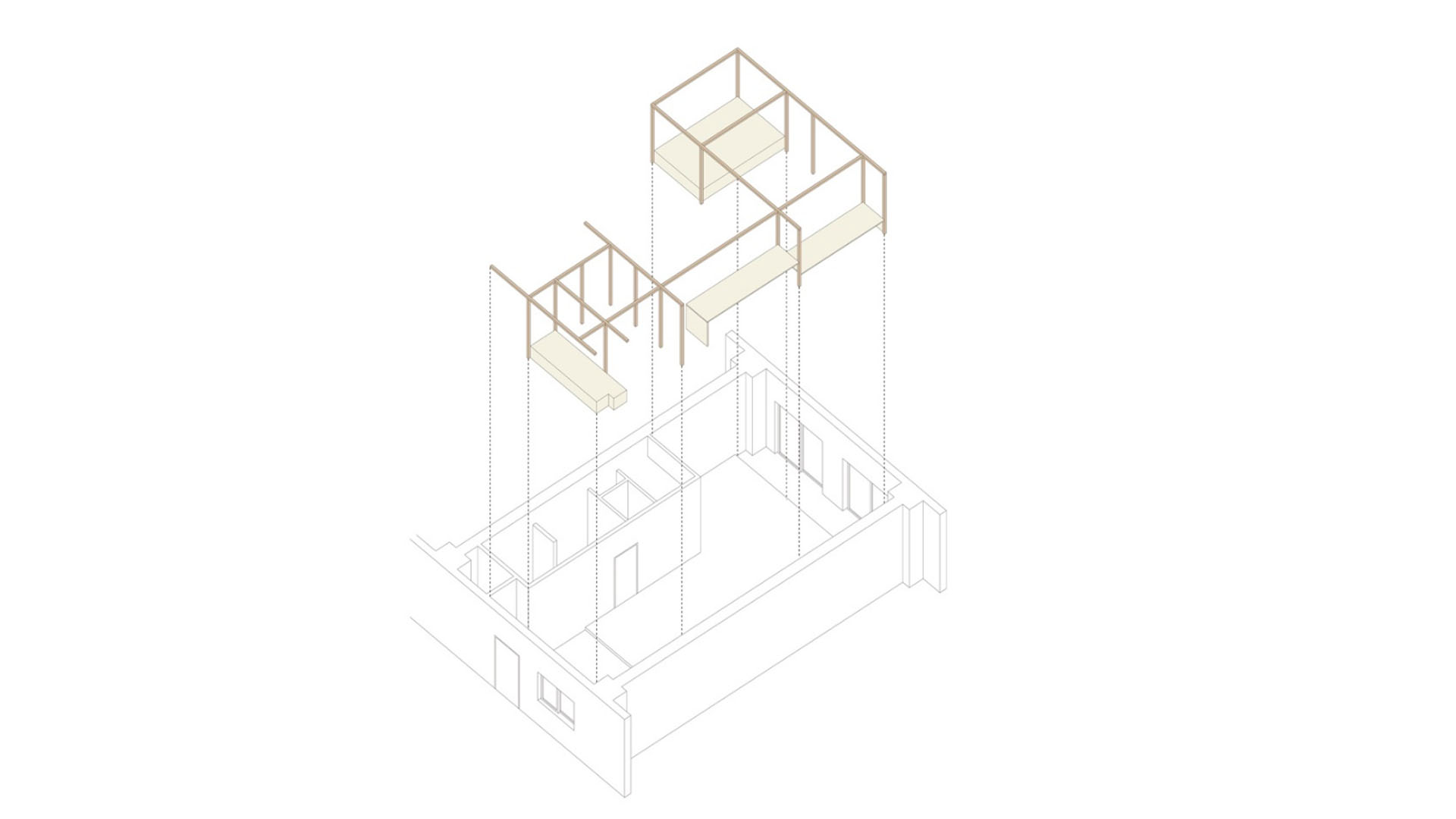 frame house diagram